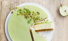 Lime Cheesecake, Cheesecake Recipes, Dessert Recipes, Danish Dessert, Danish Food, Yummy Eats, Yummy Food, Eat Dessert First, Food Cakes