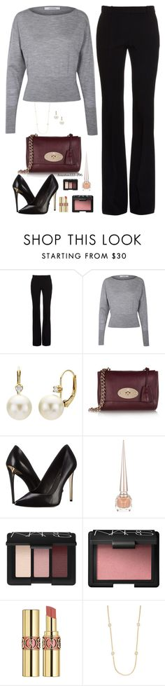 """Organized Set"" by houston555-396 ❤ liked on Polyvore featuring Alexander McQueen, DaVonna, Mulberry, Rachel Zoe, Christian Louboutin, NARS Cosmetics, Yves Saint Laurent, Saks Fifth Avenue, women's clothing and women's fashion"