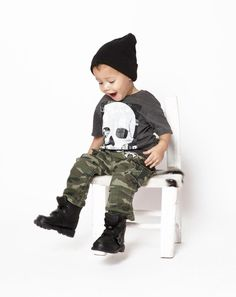 Toddler Fashion Photo Shoot - lexstyles  Shirt: H  Pants: Gap Kids  Shoes: Polo by Ralph Lauren  Hat: eBay