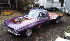◆ Visit MACHINE Shop Café... ◆ ~ Aussie Custom Cars & Bikes ~ (The 1972 HQ Holden One Tonner)