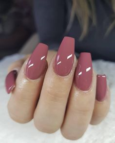 Spring nails nail designs 2019 - page 26 of 200 - nagel-design-bilder.de - Spring nails nail designs 2019 You are in the right place about Beauty drawings Here we offer you t - Mauve Nails, Opi Nails, Neutral Nails, Dark Pink Nails, Nail Nail, Neutral Art, Neutral Colors, Popular Nail Colors, Popular Nail Designs