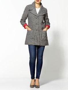 Frugal Finds: Tweed Coat | What the Frock? - Affordable Fashion Tips and Trends