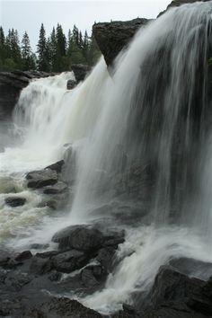 Ristafallet, Jämtland, Sweden