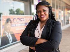 Cori Bush is an American politician, registered nurse, pastor, and activist serving as the U.S. Representative for Missouri's 1st congressional district Beirut, Joe Biden, Missouri, Bush, Texas Man, National Review, Business And Economics, Johnson And Johnson, Black Women