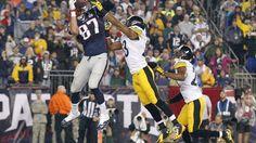 Gronkowski scores his second touchdown.