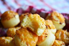 Hungarian cheese puffs.