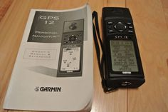 GARMIN GPS 12 CHANNEL Personal Navigator Receiver Waterproof Backlit Geocaching #Garmin