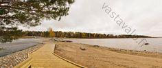 Paltaniemen uimaranta - Kajaani Kainuu Paltaniemi Oulunjärvi