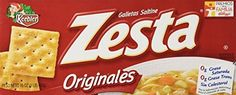 Keebler Zesta Original Saltine Crackers 16 Oz. Box (Pack ...10each https://www.amazon.com/dp/B01K85WJFK/ref=cm_sw_r_pi_dp_x_MZRSxb7BT2SGC