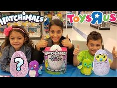 New Hatchimals Magical Surprise Egg Opening at Toys R Us!!! Kids Toy Review. https://youtu.be/qdlVnGnM4M4