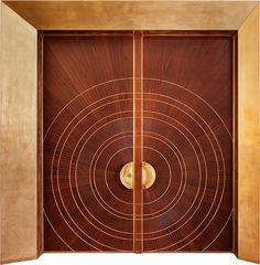 Main Entrance Door, Main Door, Entry Doors, Main Gate, Door Design, House Design, Modern Entry, Art Deco, Door Detail