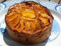 FOOD & CAKES: Tarta flan de manzana (Thermomix) Chef Recipes, Sweet Recipes, Dessert Recipes, Cooking Recipes, Dessert Parfait, Thermomix Desserts, French Desserts, Sweet Pie, Frozen Desserts