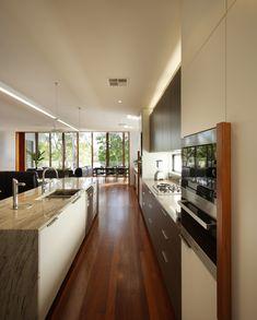 Elegant kitchen. Open space concept