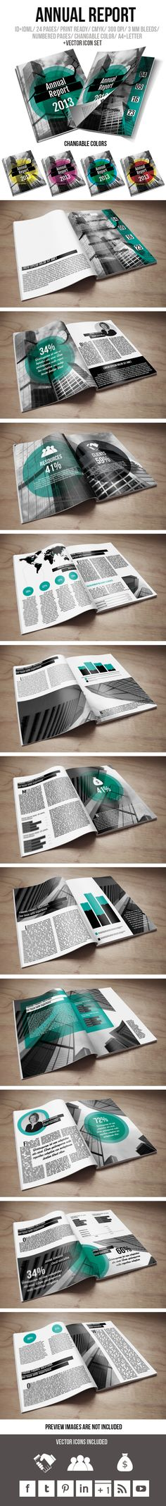 Annual Report Brochure by crew55design , via Behance