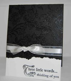 Three Little Words meets Bella Toile by amyfitz1 - Cards and Paper Crafts at Splitcoaststampers
