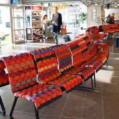 Stratified Public Seating : Monolit Bench: