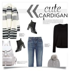 """Cute Cardigan :)"" by michelledany ❤ liked on Polyvore featuring MANGO, T By Alexander Wang, Alexander Wang, SWEET MANGO, UGG Australia, polyvoreeditorial, polyvorecontest and mycardi"