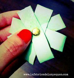 DIY: flores de cartón