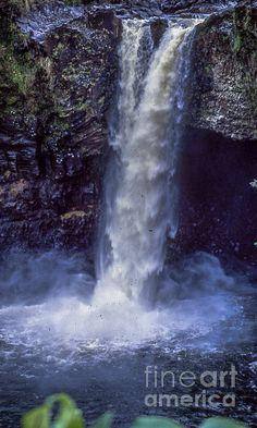 Rainbow Falls in Hawaii by William Norton