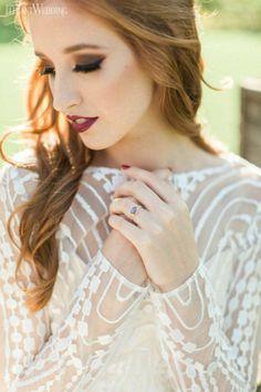 awesome 60 Elegant Wedding Make Up Ideas for Redhead  https://viscawedding.com/2017/08/23/60-elegant-wedding-make-ideas-redhead/