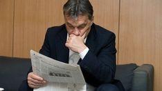 orbán viktor újságot olvas (orbán viktor, )
