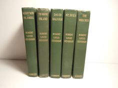 Robert Louis Stevenson C.1912 Set of 5 Books by MSMUnlimited, $75.00