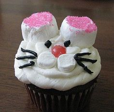 Find some fun ideas for making bunny cupcakes for your next bunny theme party or for Easter celebration.    If you are getting ready for Easter...