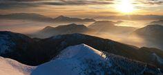 Mala Fatra morning #slovakia Mountain Range, Hostel, Wander, Mount Everest, Mountains, Park, Travel, Viajes, Parks