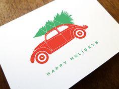 Day 6: Xmas Bug Christmas Card #Christmas #Christmas card #printable Christmas card