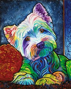 Animals | The Artwork of Steven Schuman Just love his artwork! I bought this one in Savannah, GA as it looks just like our Phoebe :-)