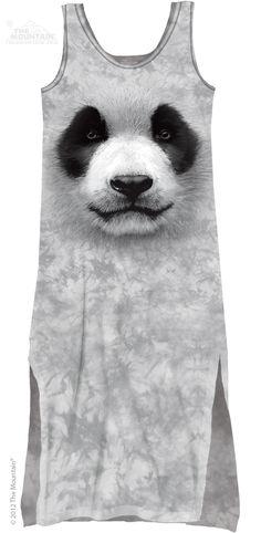 The Mountain - Big Face Panda Maxi Dress, $38.00 (http://shop.themountain.me/big-face-panda-maxi-dress/)
