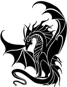 New Tribal Dragon by Tribalchick101 on deviantART