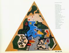 list of plants - landscaping projects like paintings - by Roberto Burle Marx