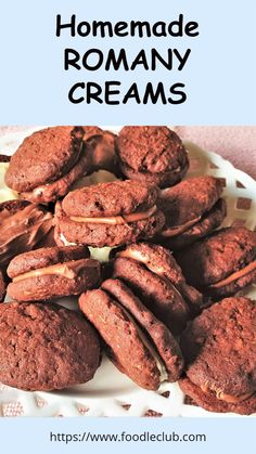 Romany Creams are one of the most popular biscuits sold in South Africa. These delicious cookies are crunchy, chocolatey and packed with coconut, and are sandwiched together with melted chocolate for extra decadence. This is how you make them yourself at home. #foodleclub #homemade #romanycreams #chocolatebiscuits Easy Baking Recipes, Coconut Recipes, My Recipes, Cookie Recipes, Cream Biscuits, Chocolate Biscuits, South African Recipes, Delicious Cookies, Melted Chocolate