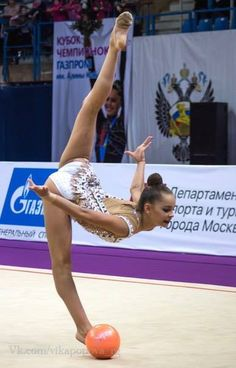 Arina AVERINA (Russia) ~ Ball @ Russian National Championship 2017 @ Penza Photographer Vika Popova_rg.