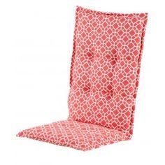 Zojuist Tuinkussen Hartman Sancy Red Hoge Rug gekocht: