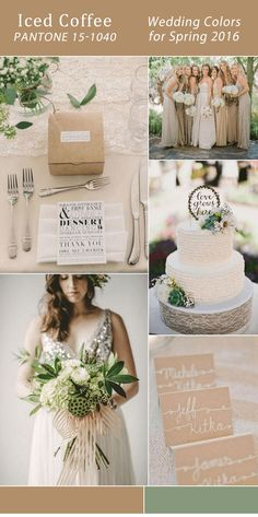 Wedding Color Board: Timeless Blushing Neutrals | Neutral wedding ...
