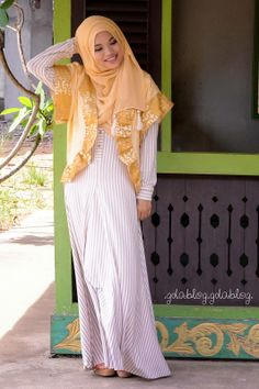 Ghaida Tsurayya's style. . . I like it. . .