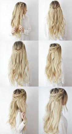 4 варианта простых и стильных укладок на длинные волосы