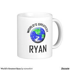 World's Greatest Ryan Classic White Coffee Mug