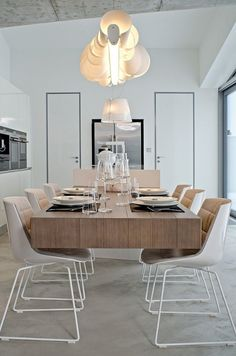 12 Dining Rooms Where You'd Never Miss a Family Dinner: Radka Valova of OOOOX.