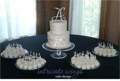 Wedding Cake, white on white