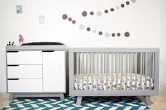 Hudson 3-in-1 Convertible Crib with Toddler Rail | Babyletto