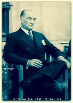 Atatürk Ankara'da 08-11.11.1934