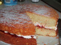 Victoria Sandwich - Classic English Sponge Cake For Tea Time Recipe - Food.com