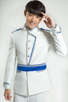 Cheap wedding for men, Buy Quality dress groom directly from China wedding singers Suppliers: PYJTRL New Men's White Collar Dress Groom Singers Wedding For Men Fashion Suit Terno Masculino Suits European Fashion, Modern Fashion, Fashion Design, Suit Fashion, Mens Fashion, White Collar Dress, The Wedding Singer, Groom Dress, Wedding Men