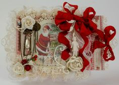 A Christmas Double Tag Card by Tara, Christmas in Norway paper collection, more images inte the Pion Design Blog!