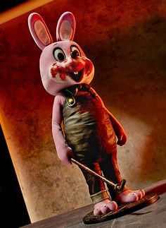 Gecco 2015 SDCC Exclusive - Robbie The Rabbit Silent hill 3
