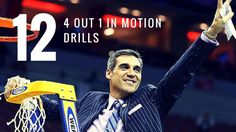 12 Drills for 4 out 1 in motion offense