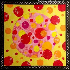 Meet The Creative Part of Me : International Dot Day - Warm and Cold Dots